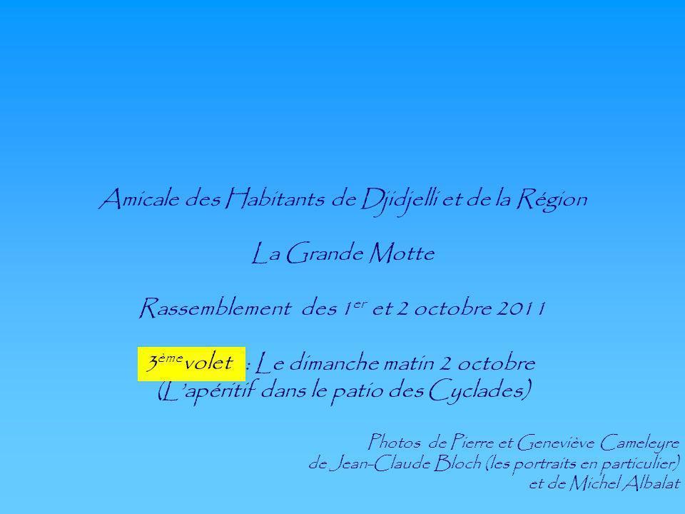 Amicale des Habitants de Djidjelli et de la Région La Grande Motte