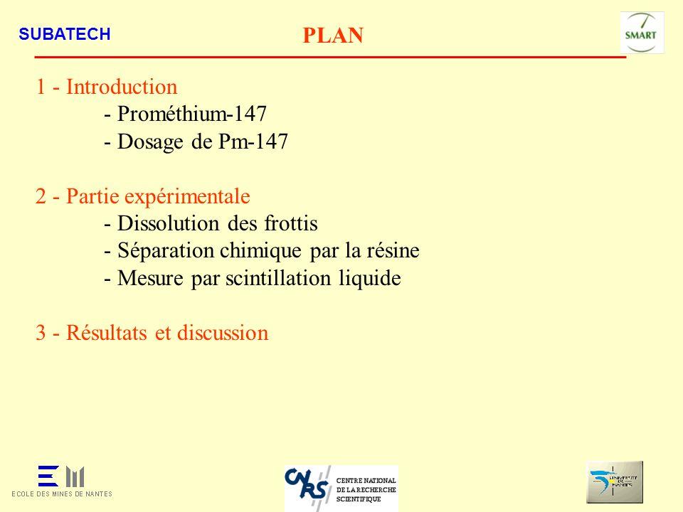 2 - Partie expérimentale - Dissolution des frottis