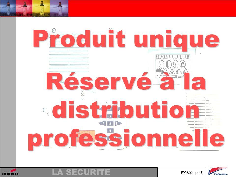 Réservé à la distribution professionnelle