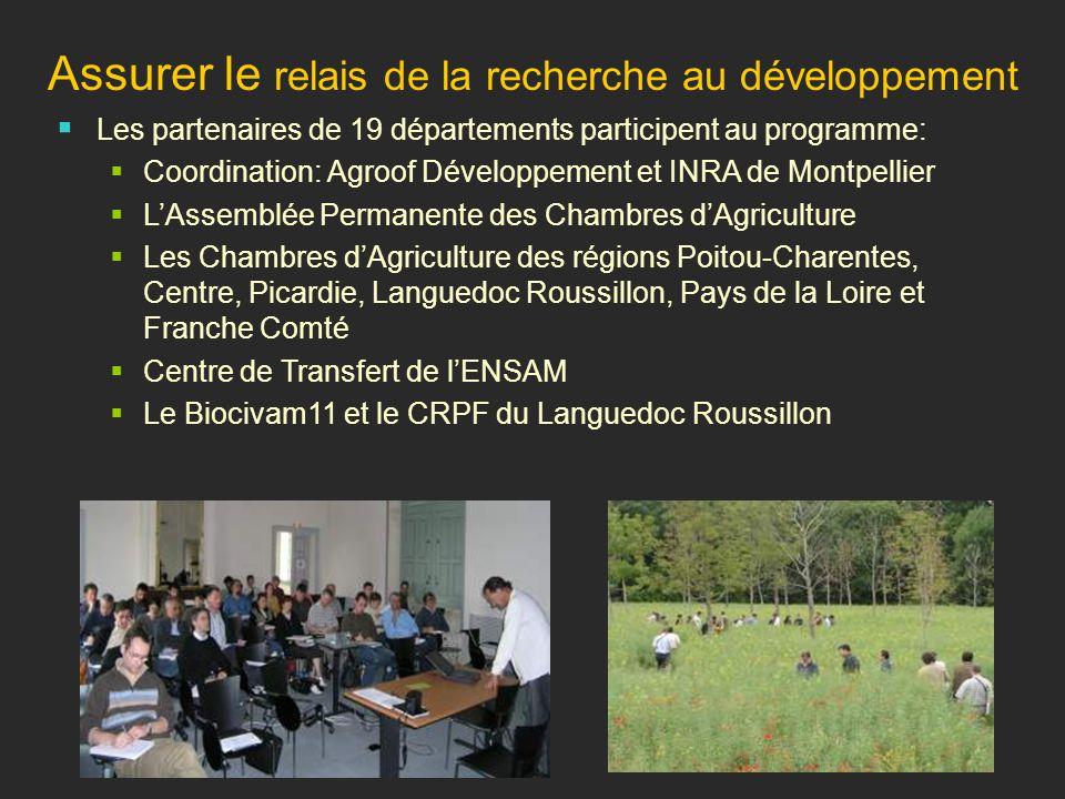 L agroforesterie en france ppt t l charger - Chambre regionale d agriculture pays de la loire ...