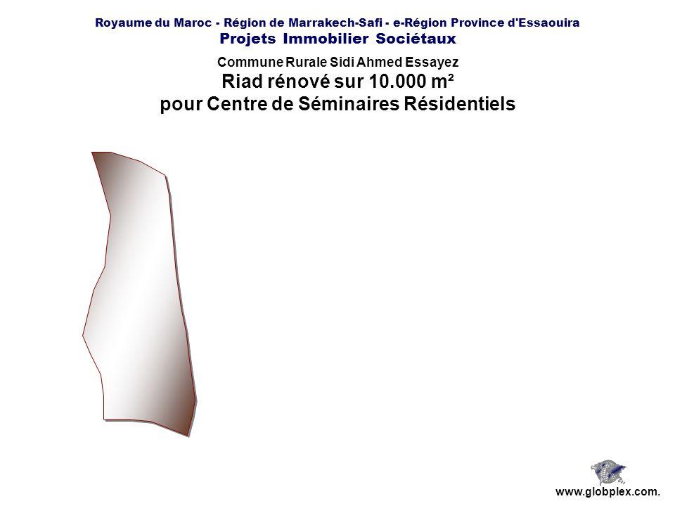 Riad rénové sur 10.000 m² pour Centre de Séminaires Résidentiels