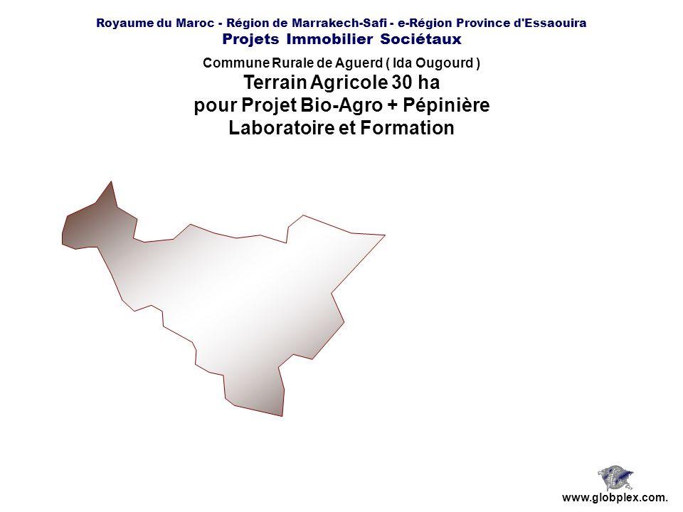 pour Projet Bio-Agro + Pépinière Laboratoire et Formation