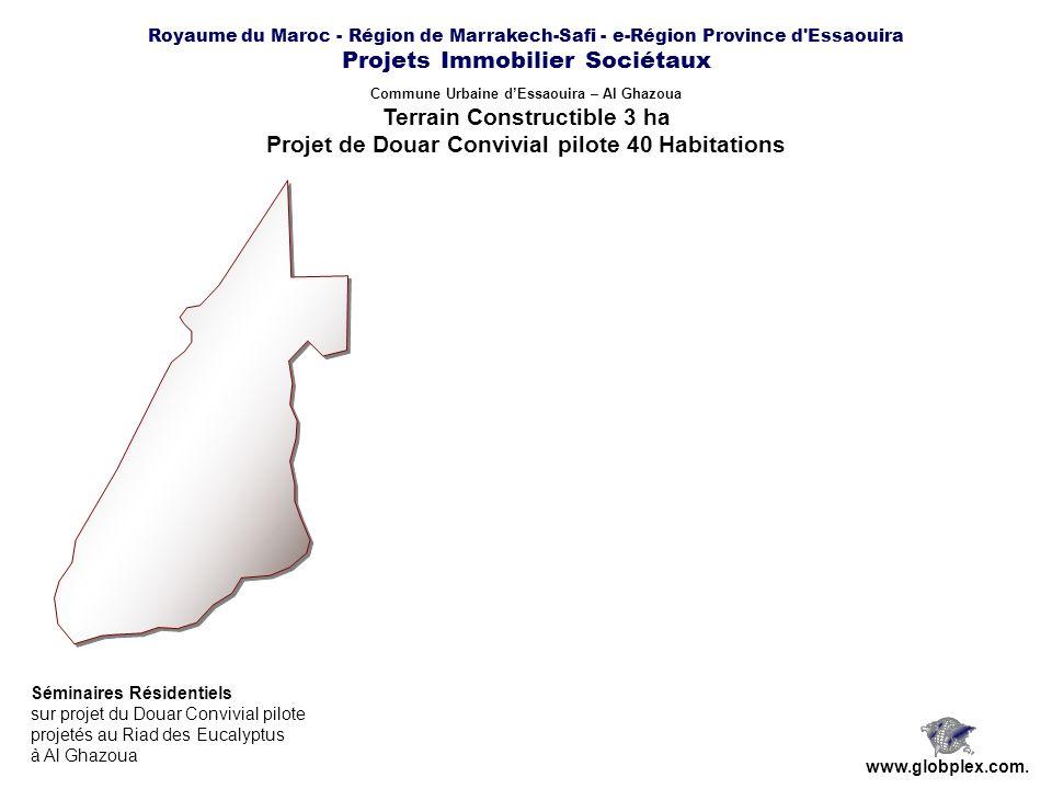 Projet de Douar Convivial pilote 40 Habitations
