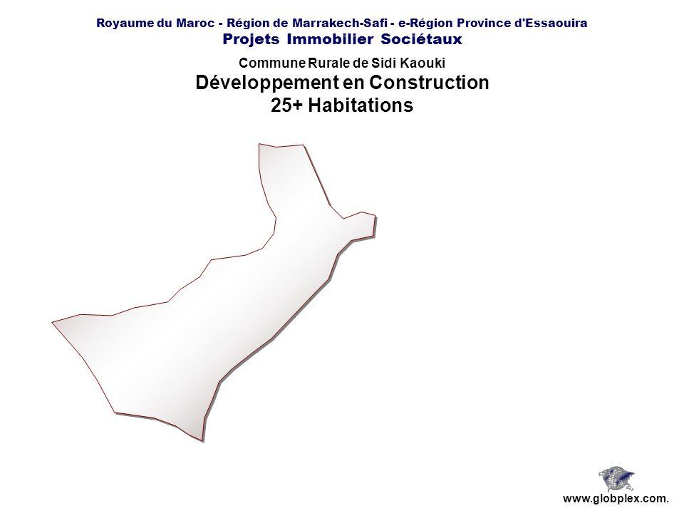 Commune Rurale de Sidi Kaouki Développement en Construction