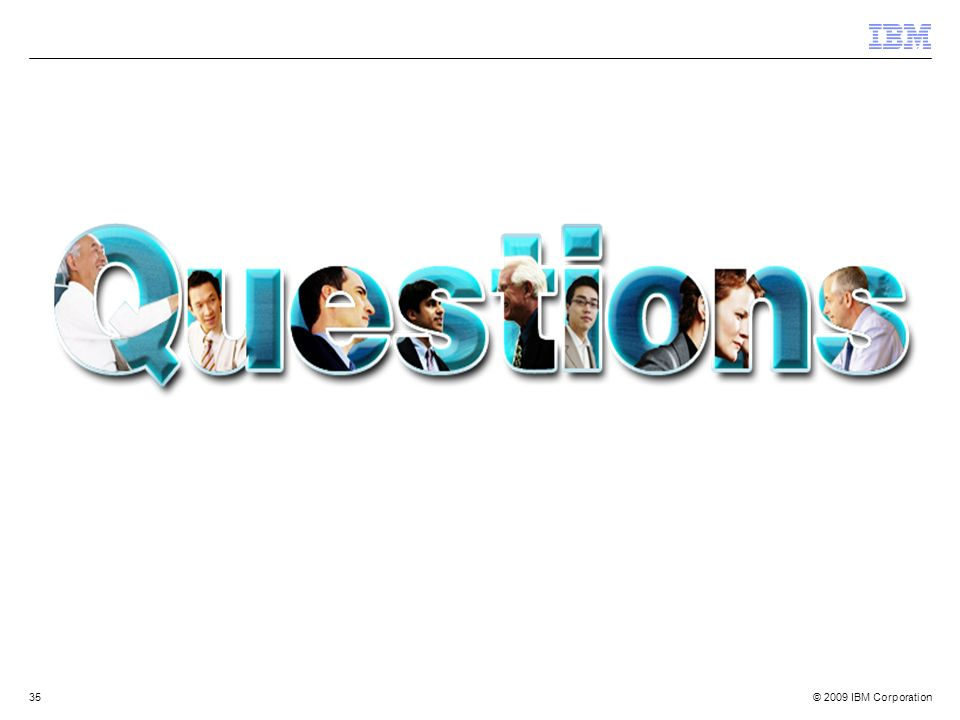 Author Notes: Optional IBM Rational Questions Breaker Slide