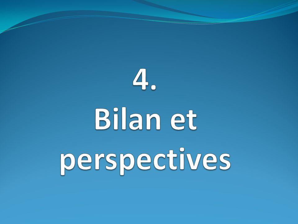 4. Bilan et perspectives