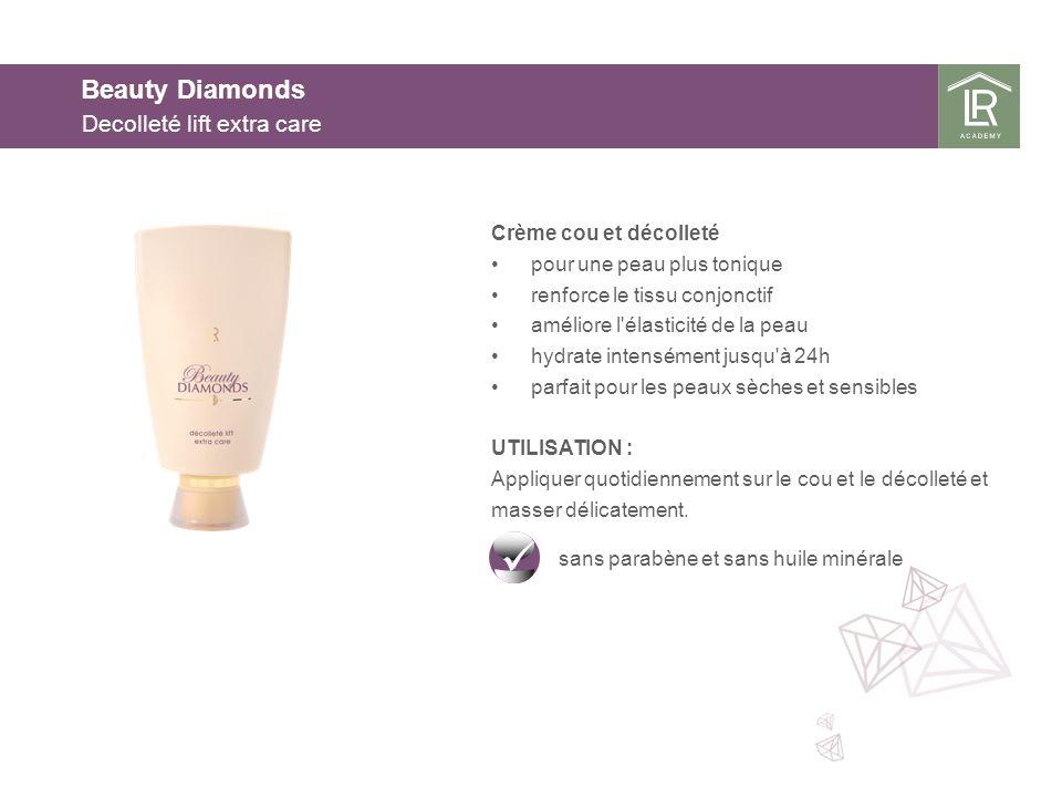 Beauty Diamonds Decolleté lift extra care Crème cou et décolleté