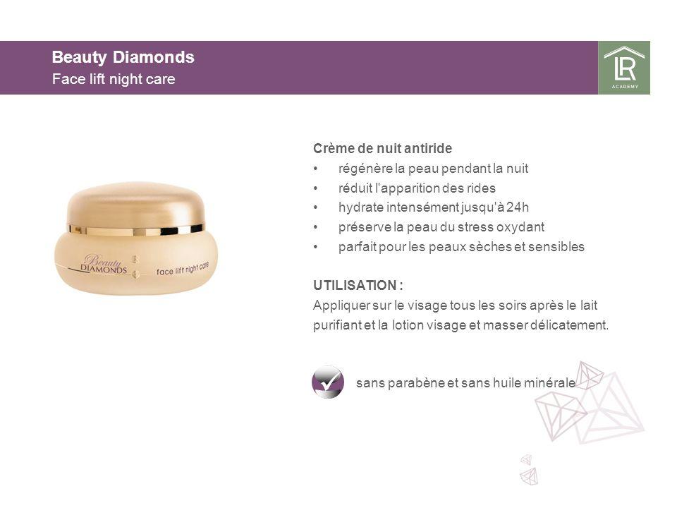 Beauty Diamonds Face lift night care Crème de nuit antiride