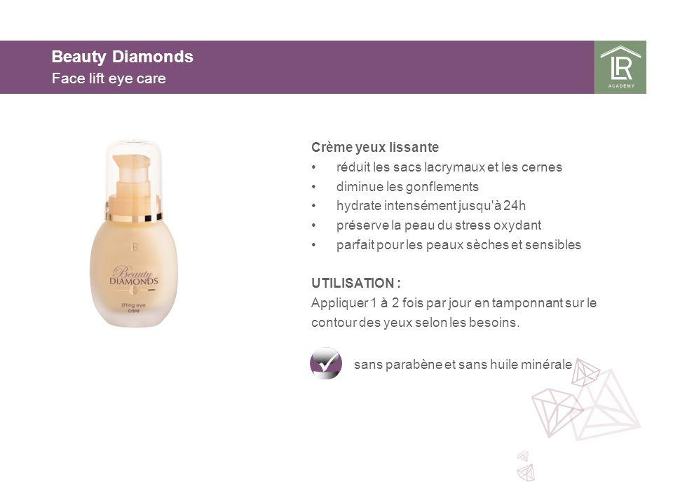 Beauty Diamonds Face lift eye care Crème yeux lissante
