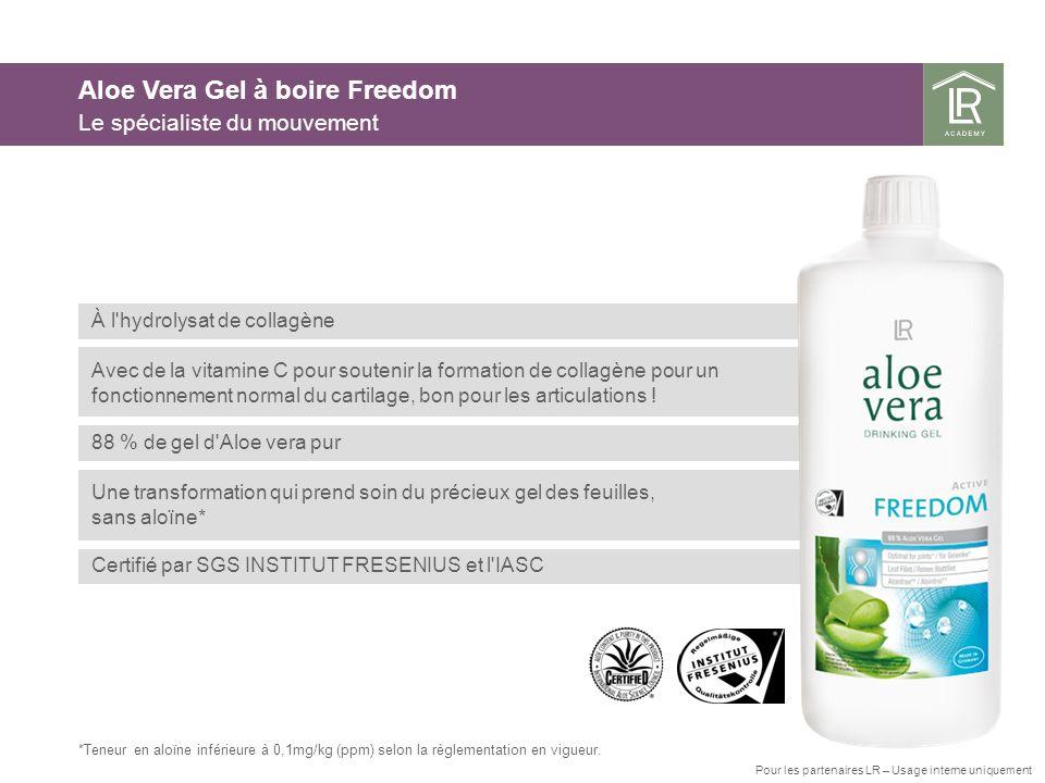 Aloe Vera Gel à boire Freedom