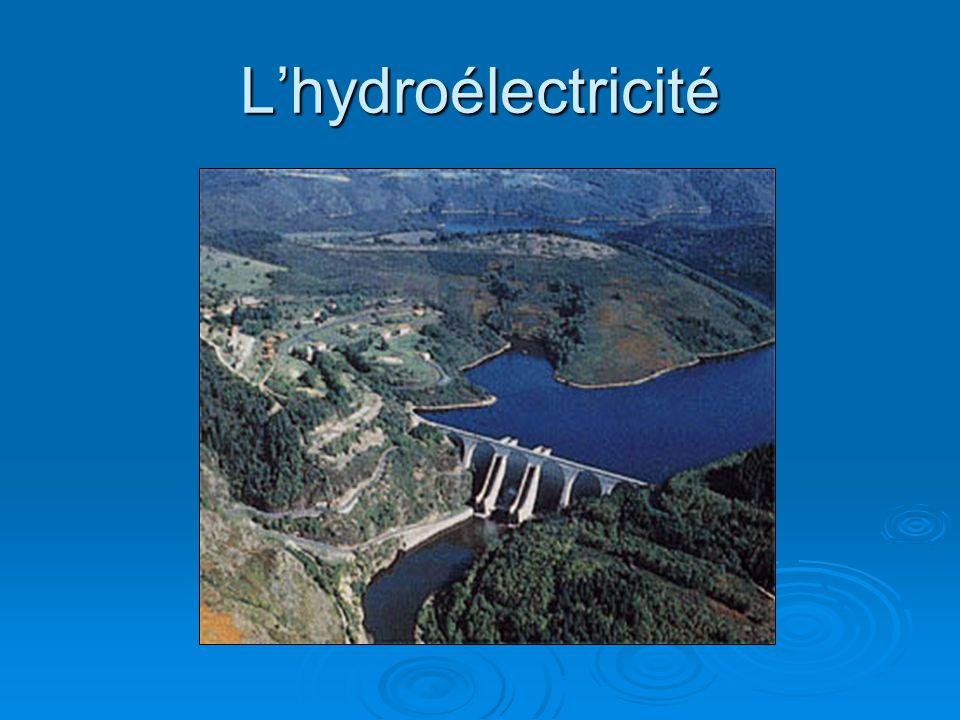 L'hydroélectricité