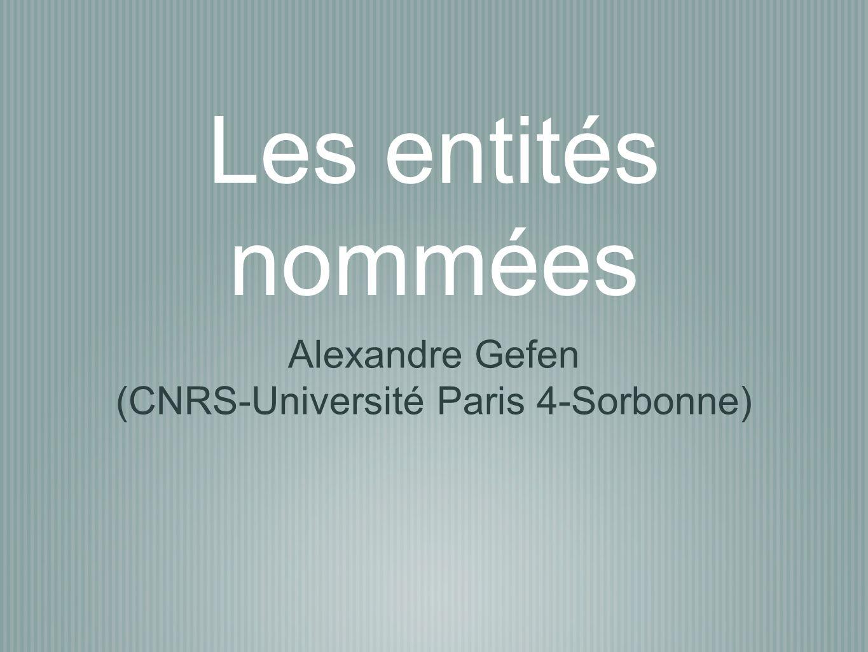 Alexandre Gefen (CNRS-Université Paris 4-Sorbonne)