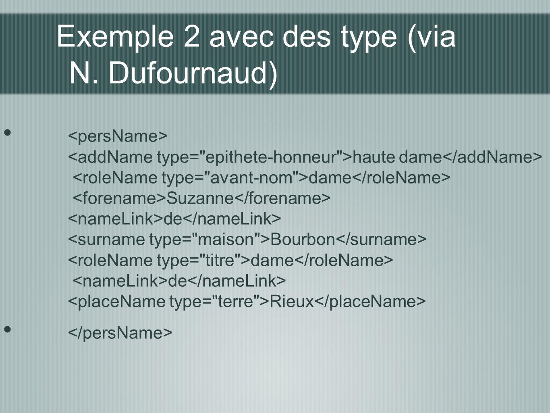 Exemple 2 avec des type (via N. Dufournaud)
