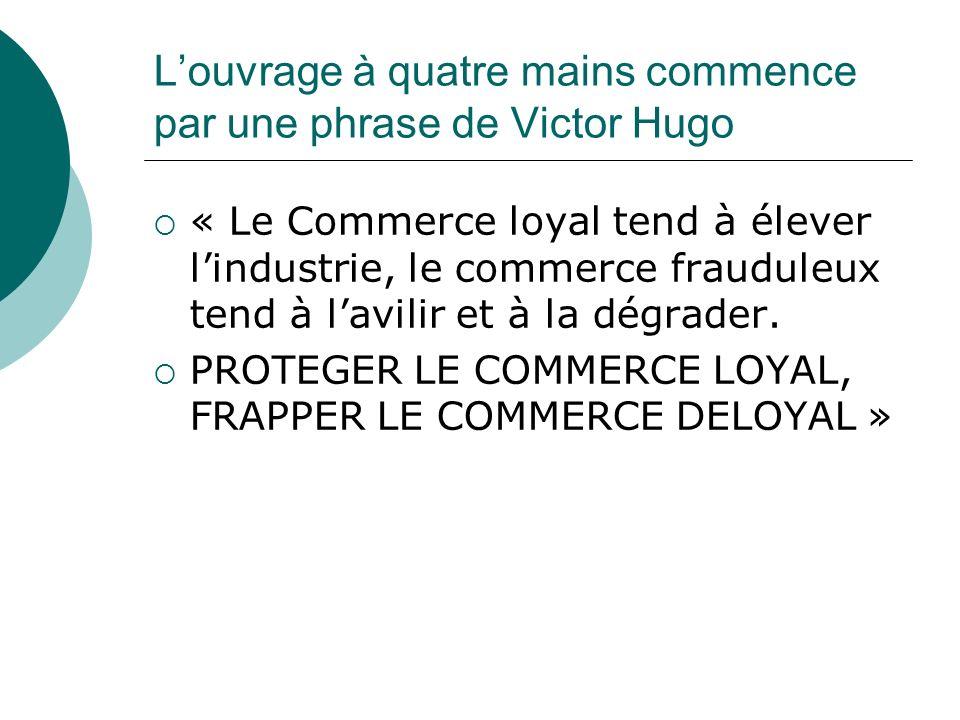 L'ouvrage à quatre mains commence par une phrase de Victor Hugo