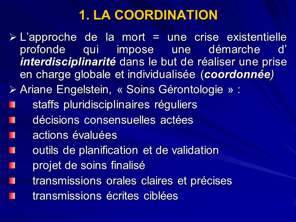 1. LA COORDINATION