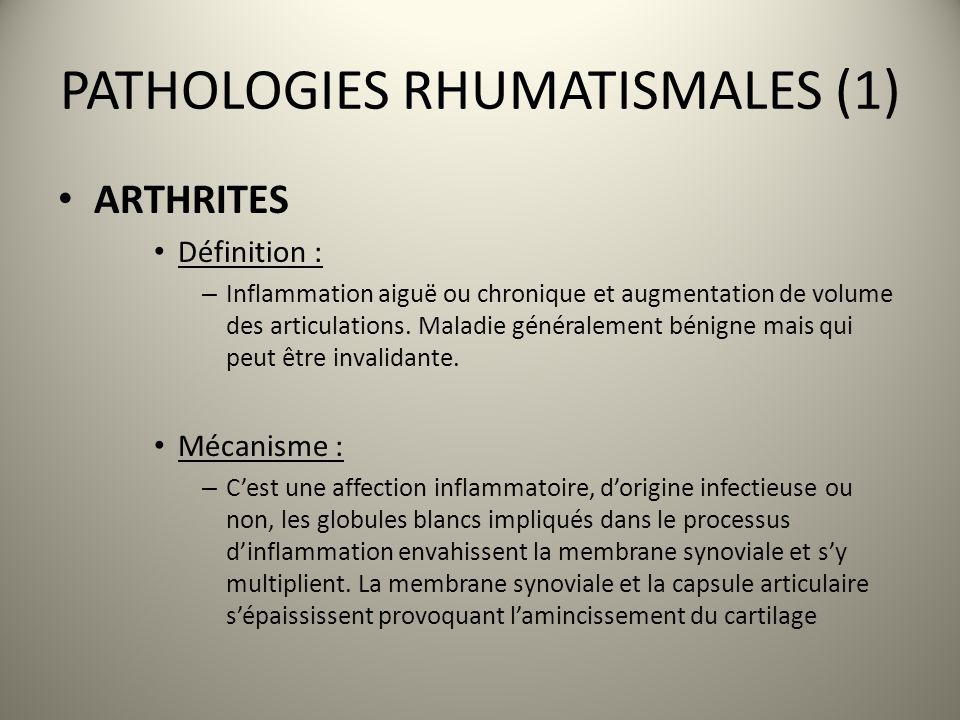 PATHOLOGIES RHUMATISMALES (1)