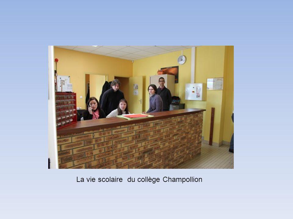 La vie scolaire du collège Champollion
