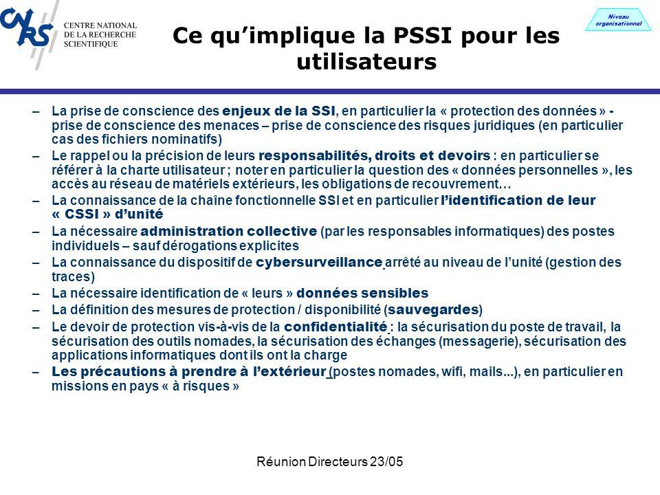 La politique de s curit des syst mes d 39 information du - Grille d identification des risques psychosociaux au travail ...