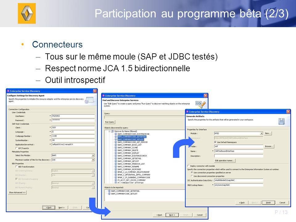 Participation au programme bêta (2/3)