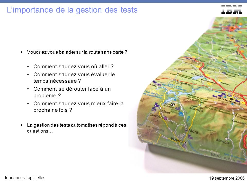 L'importance de la gestion des tests