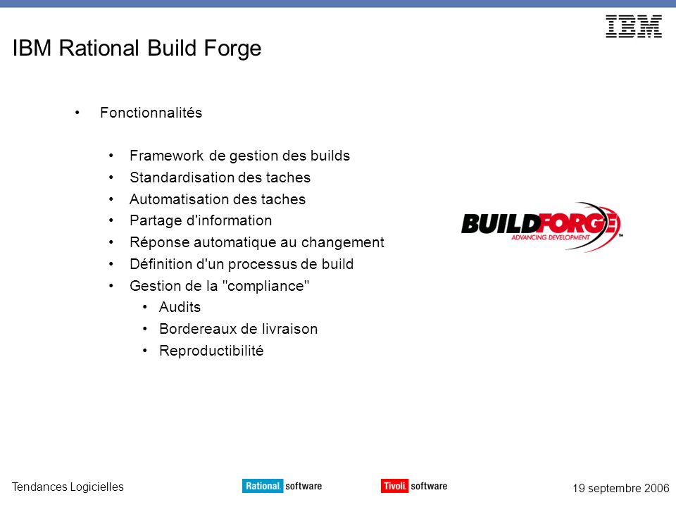 IBM Rational Build Forge