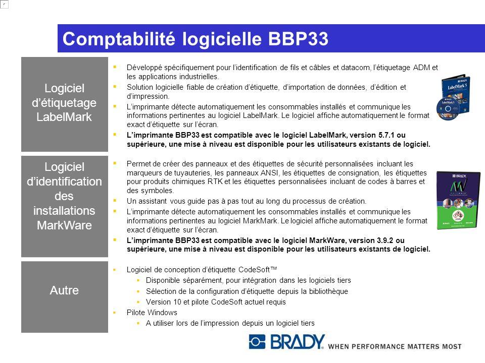Comptabilité logicielle BBP33