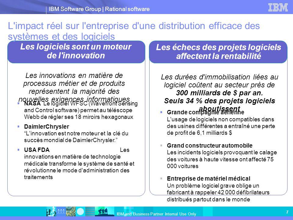 L impact réel sur l entreprise d une distribution efficace des systèmes et des logiciels