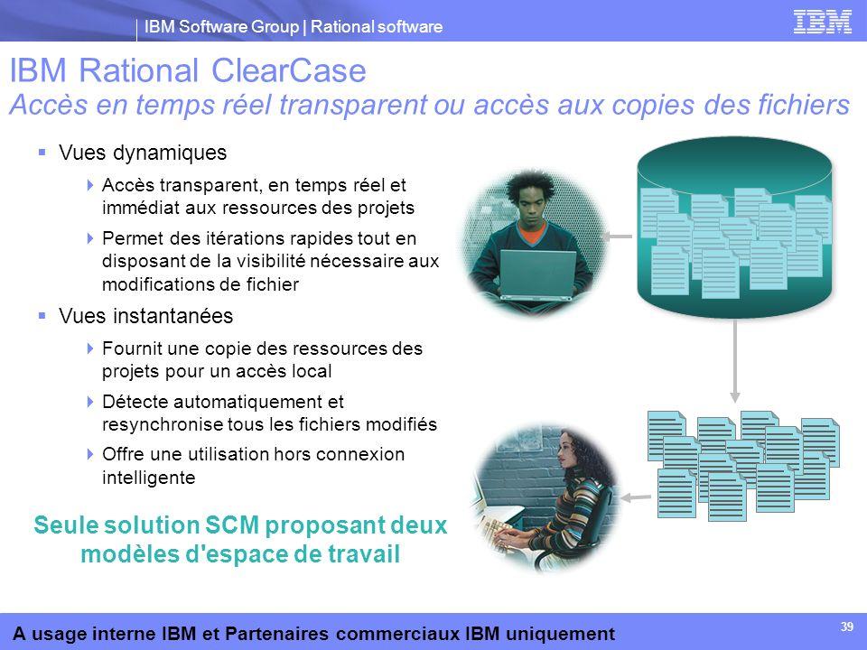 Seule solution SCM proposant deux modèles d espace de travail