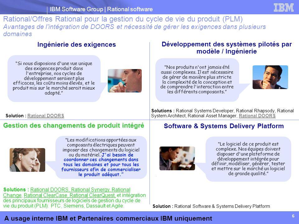 Développement des systèmes pilotés par modèle / Ingénierie