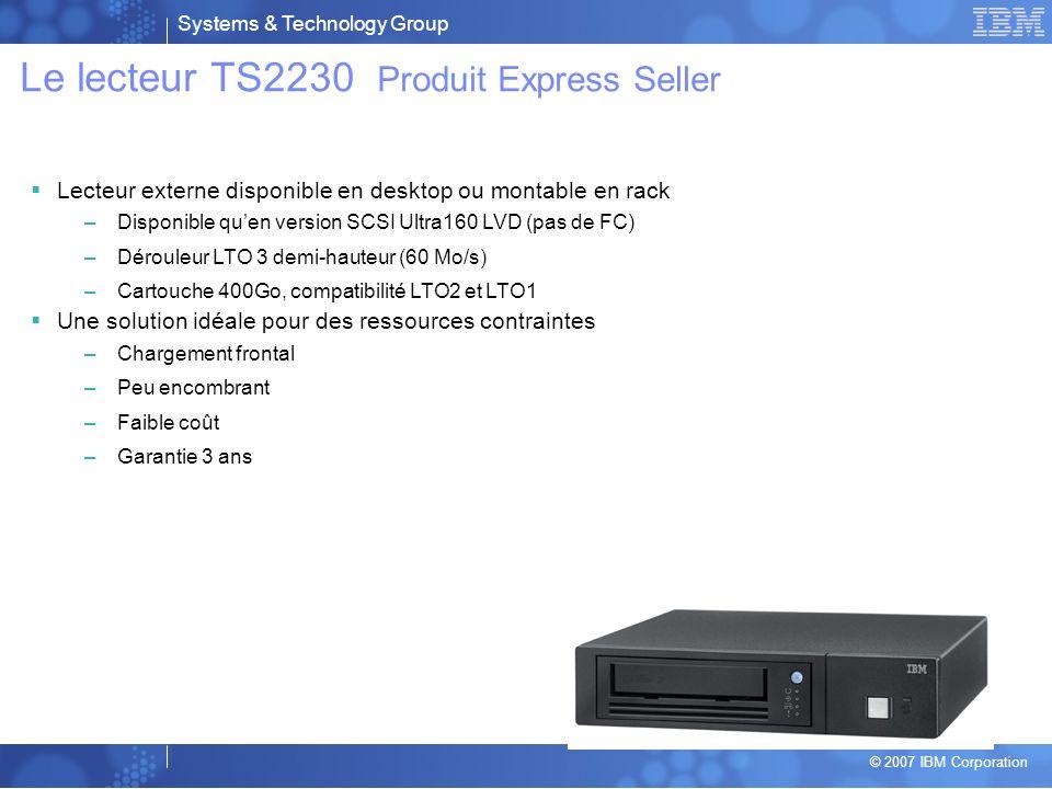 Le lecteur TS2230 Produit Express Seller