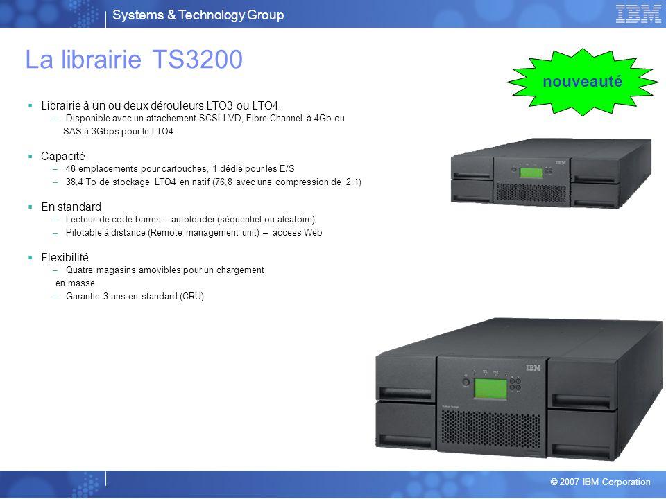 La librairie TS3200 nouveauté