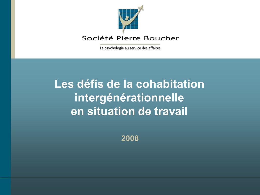 Les défis de la cohabitation intergénérationnelle en situation de travail