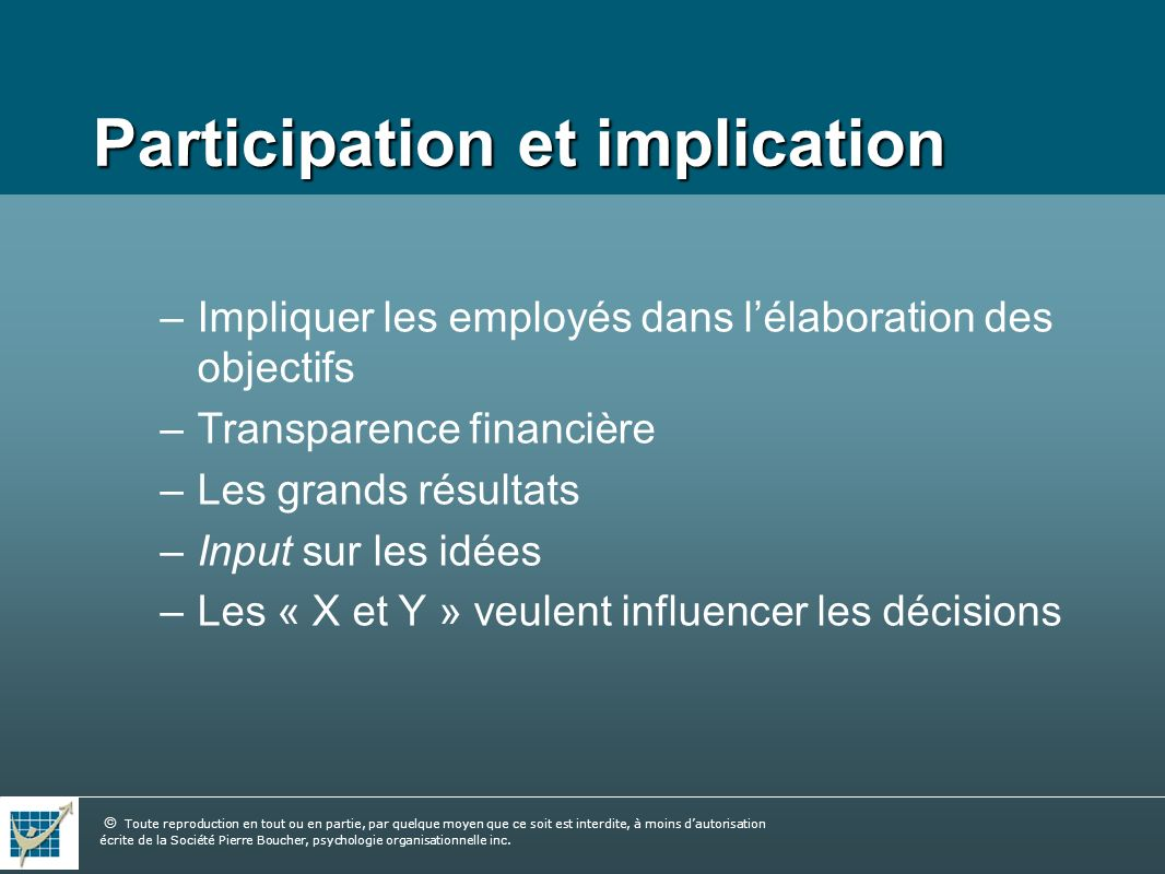 Participation et implication