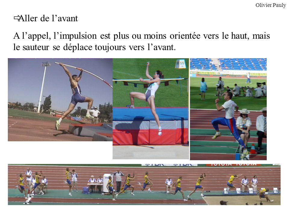 Olivier Pauly Aller de l'avant.