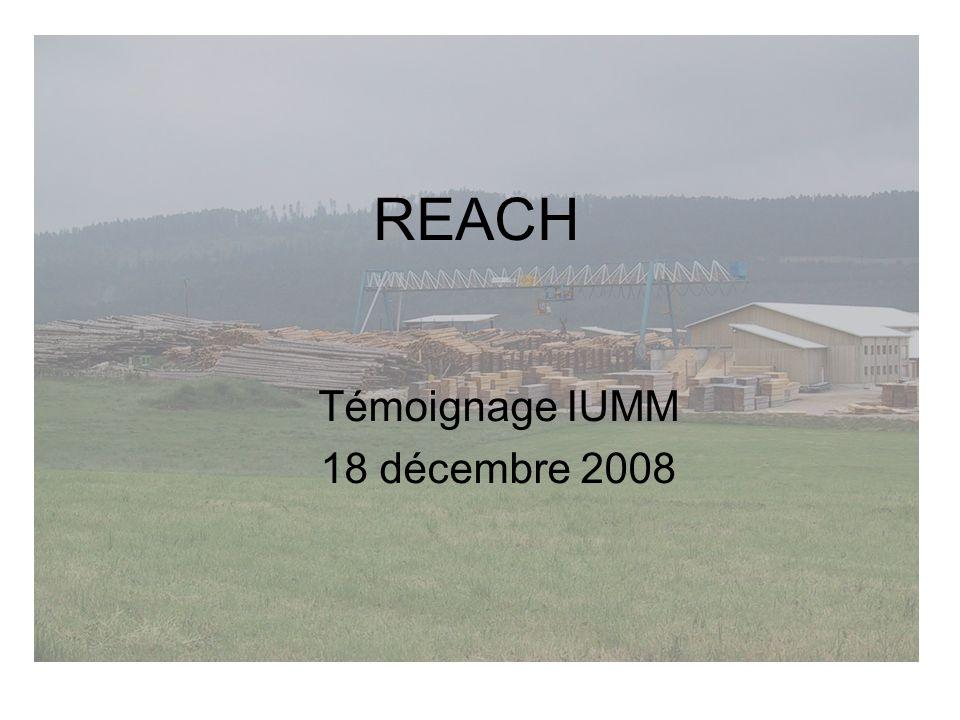 Témoignage IUMM 18 décembre 2008
