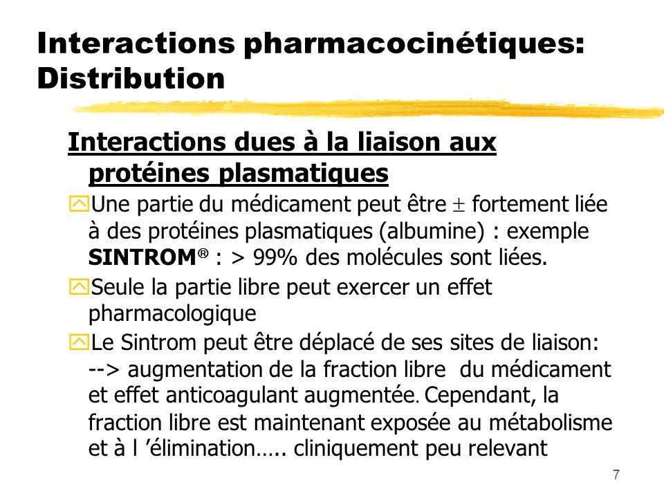Les interactions médicamenteuses - ppt télécharger