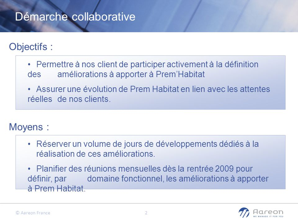 Démarche collaborative