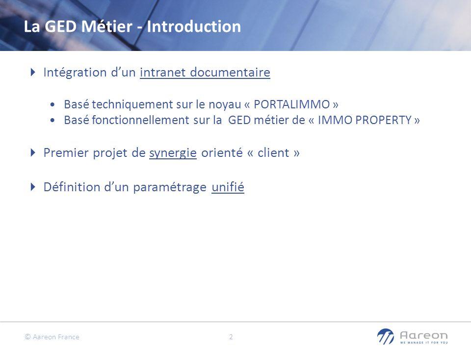 La GED Métier - Introduction