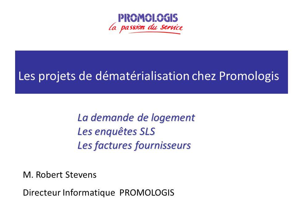 Les projets de dématérialisation chez Promologis