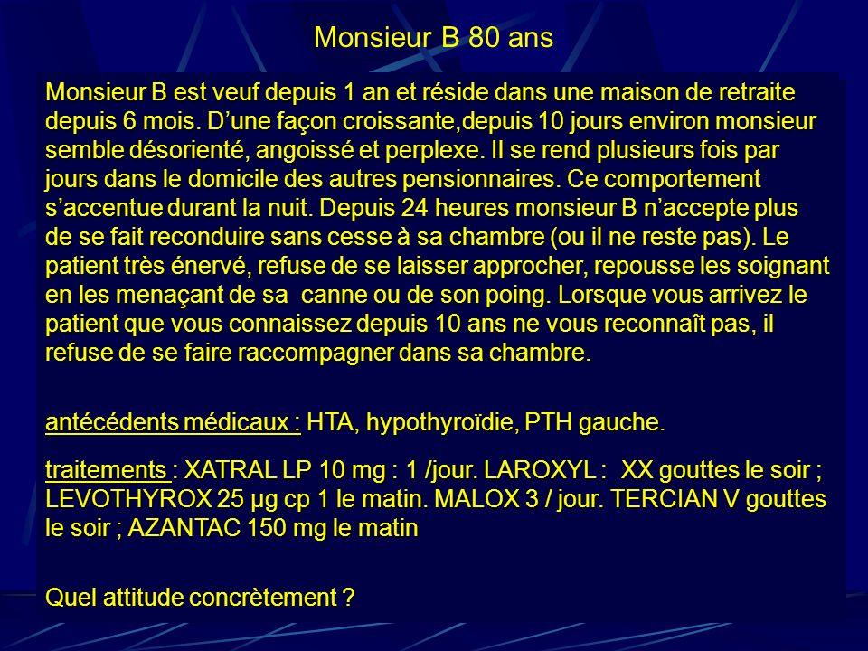 Monsieur B 80 ans