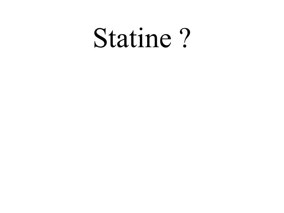 Statine