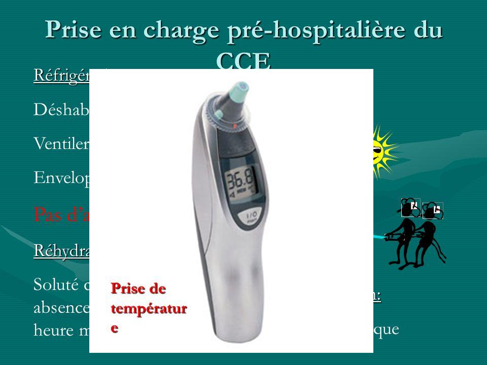 Prise en charge pré-hospitalière du CCE