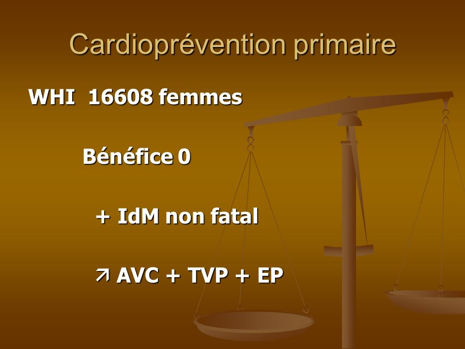 Cardioprévention primaire