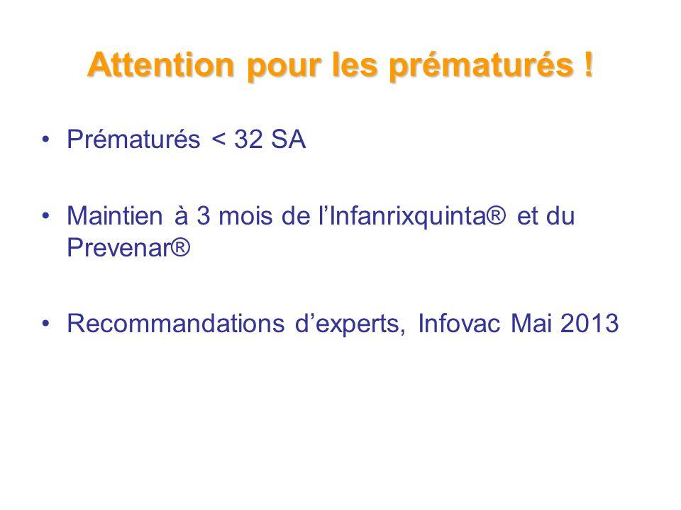 Attention pour les prématurés !
