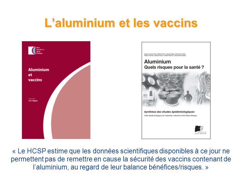 L'aluminium et les vaccins