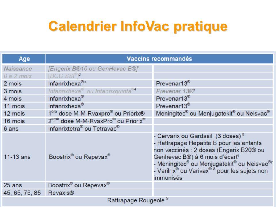 Calendrier InfoVac pratique