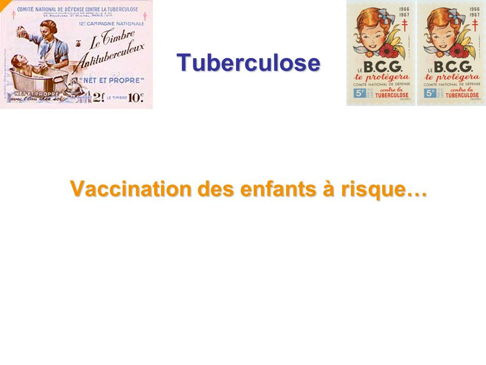 Vaccination des enfants à risque…