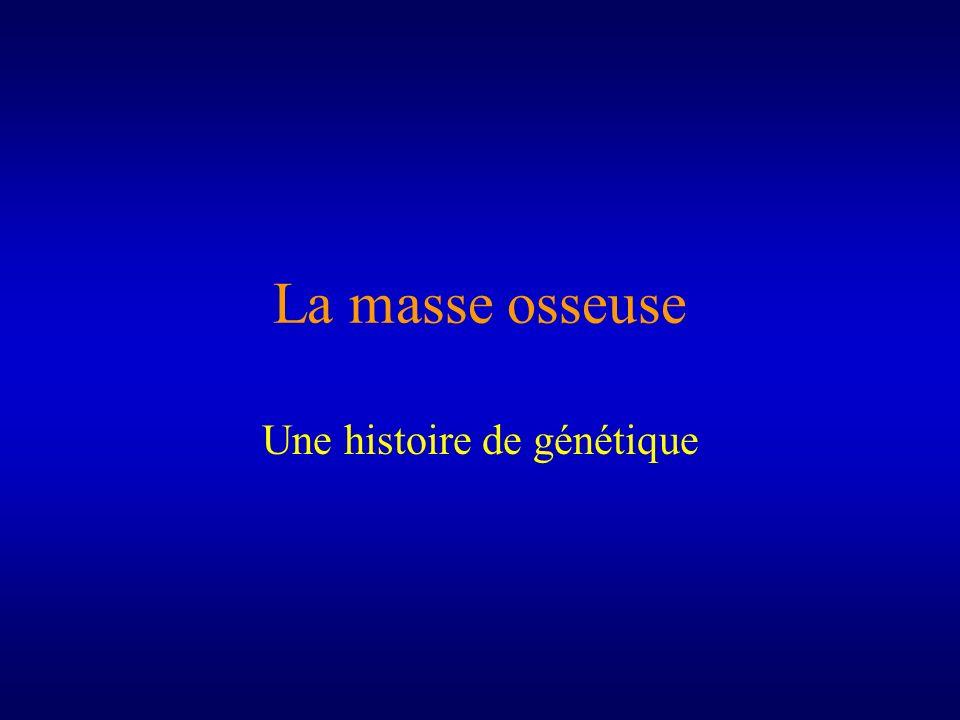 Une histoire de génétique