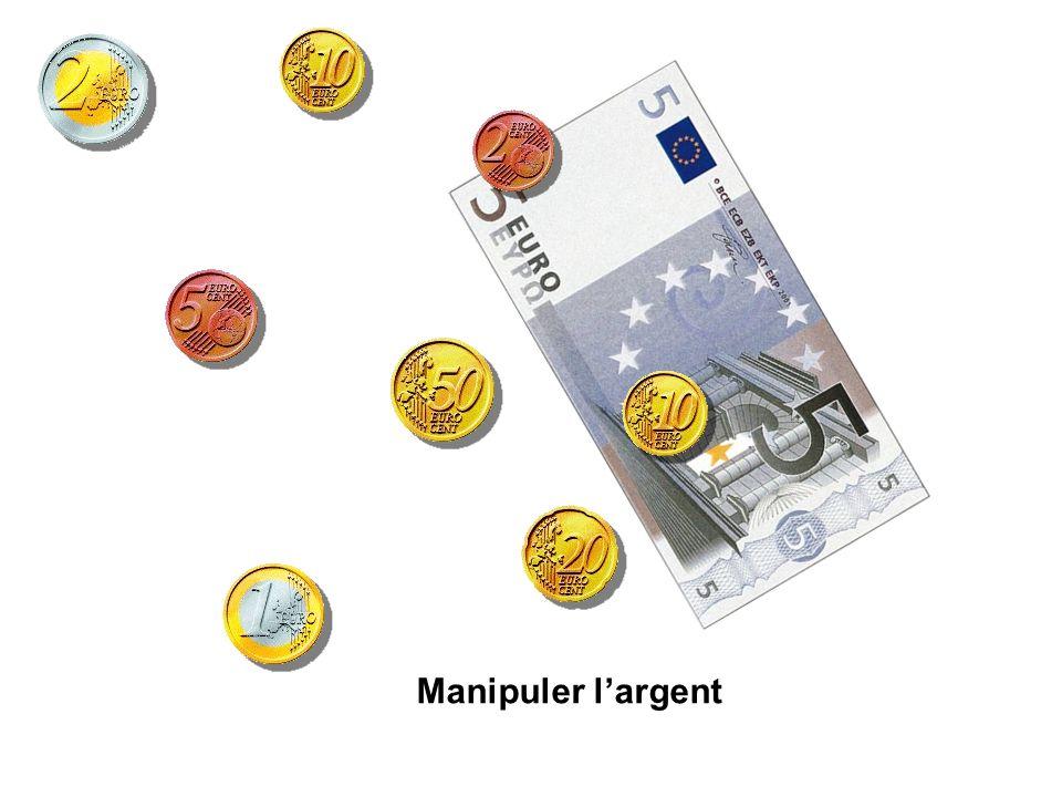 Manipuler l'argent