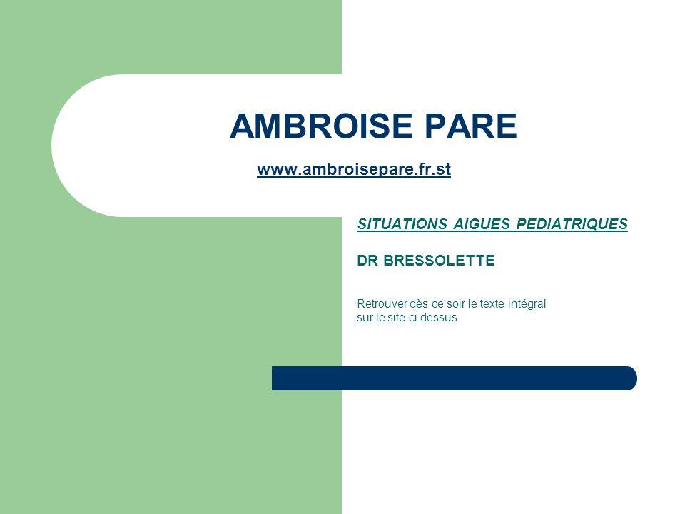 AMBROISE PARE www.ambroisepare.fr.st